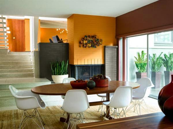 perpaduan warna interior rumah