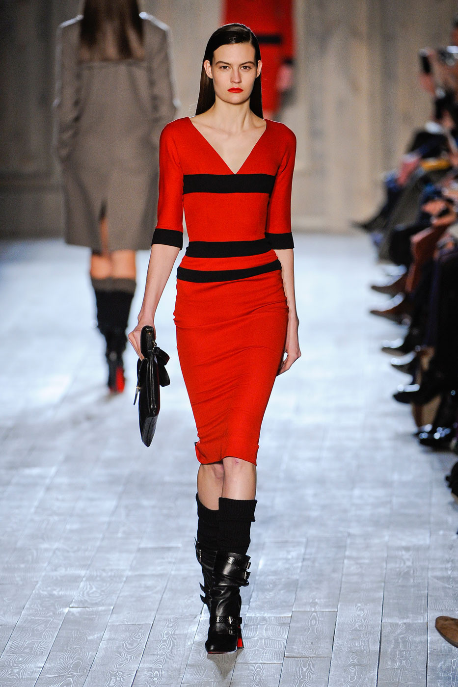 Victoria Beckham Fall/winter 2012 | red trend | inspiration
