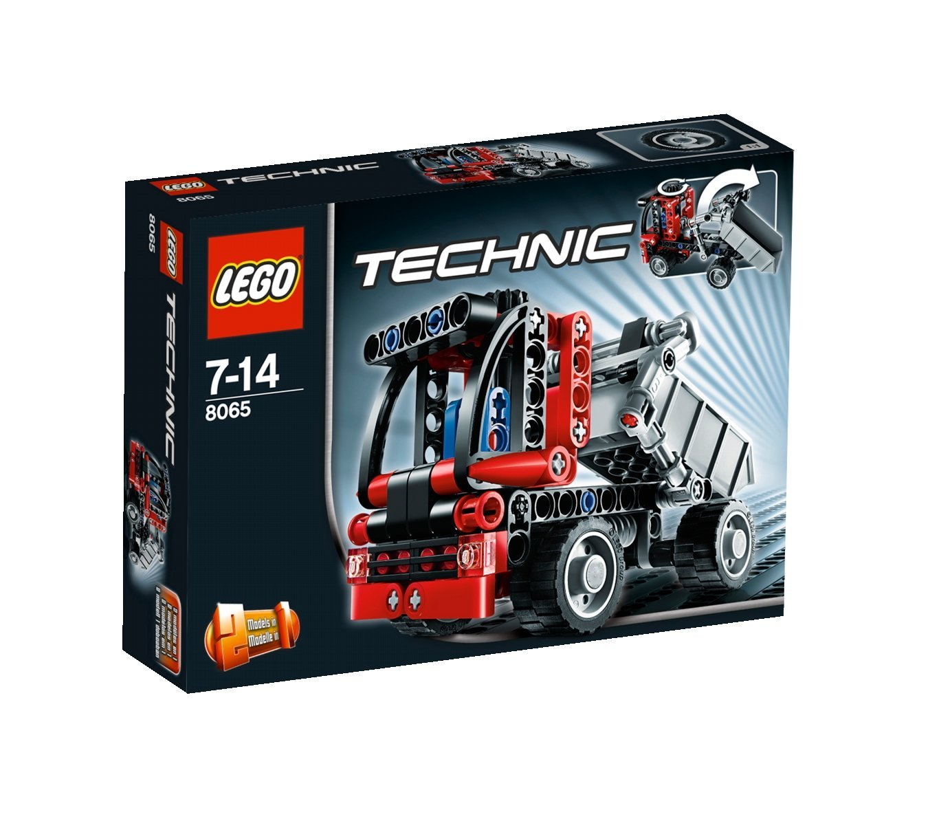 lego technic mini container truck 8065 my lego style. Black Bedroom Furniture Sets. Home Design Ideas