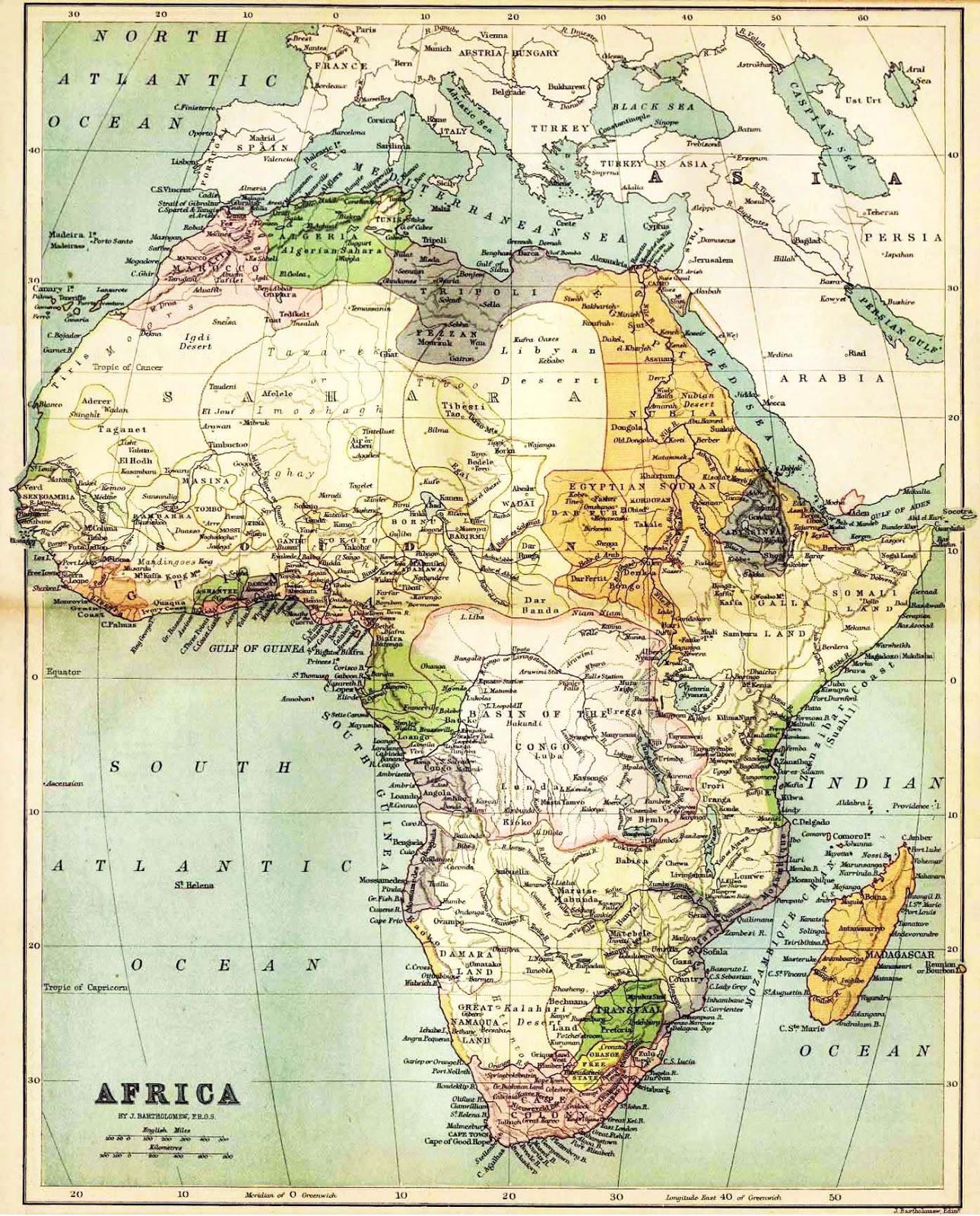 kaart afrika peru