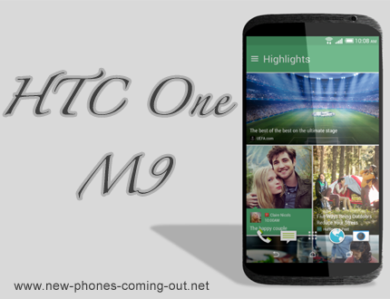 New HTC One M9