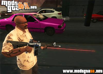SA - Armas à Laser