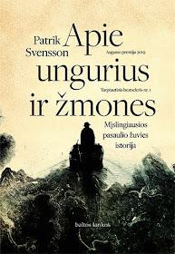 """Šiuo metu skaitau: Patrik Svensson """"Apie ungurius ir žmones"""""""