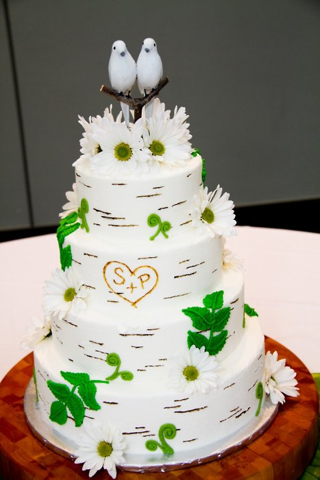 wedding cakes pictures  wedding cake with birds