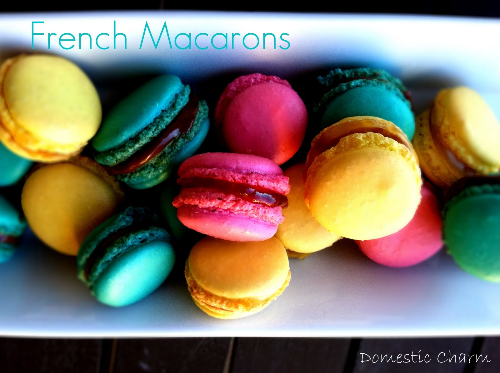 Domestic Charm: French Macarons
