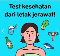Test Kesehatan Dari Letak Jerawat