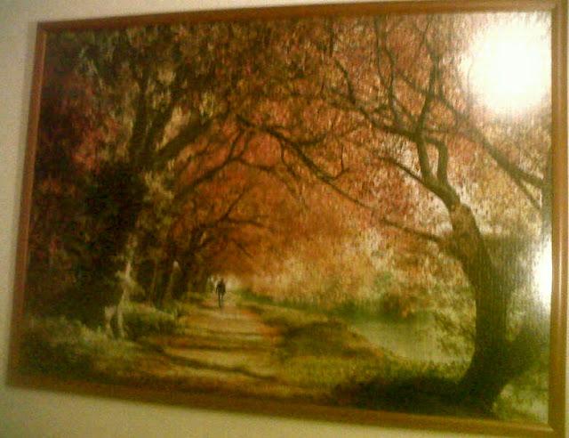 forever_autumn_2000_parça_educa_puzzle_çerçeve_frame
