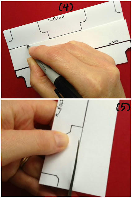 How To Make Your Own DIVIDERS For That Scrapbook Or Binder Project - Divider tabs template