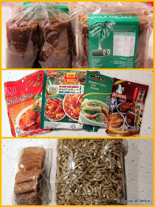 Gula Melaka, Curry Pastes, and Salted Fish
