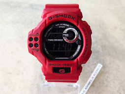 CASIO G-SHOCK GDF100-4 TWIN SENSOR ALT-THERMO - RED - PART B