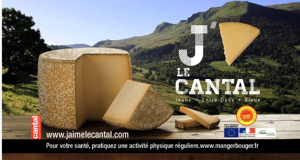 Publicité : j'aime le Cantal