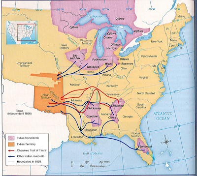 trail of tears essay thesis