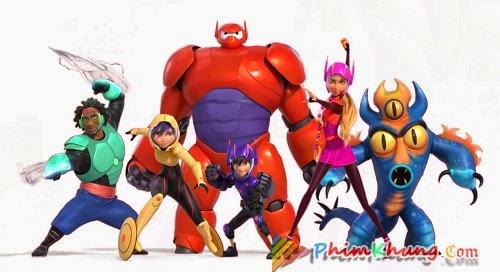 Biệt Đôi Big hero 6 - Big Hero 6