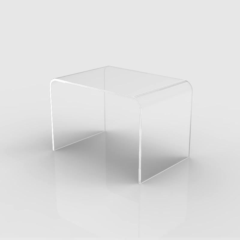 tavolino in plexiglass da soggiorno