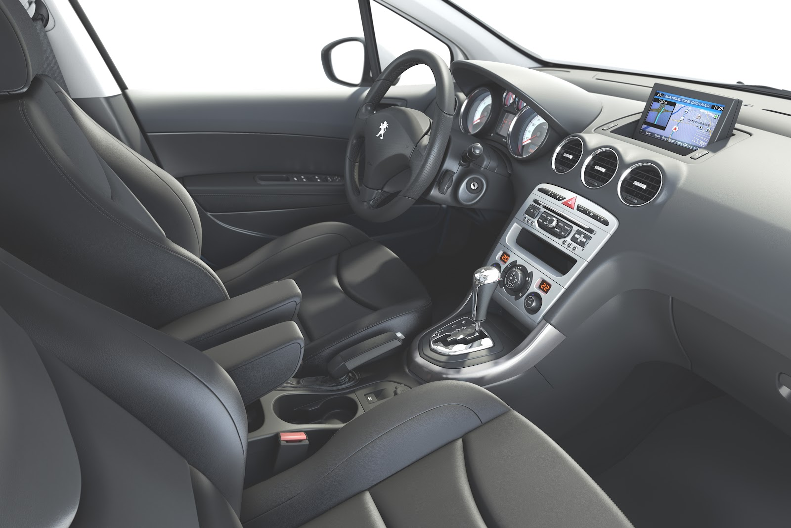 Peugeot 308 a nova gera o do hatch m dio da marca do for Interior 408 allure