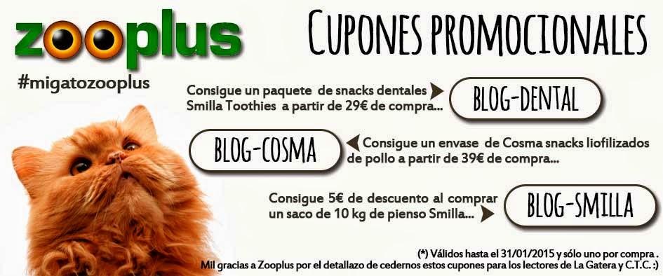 Cupones promocionales Zooplus