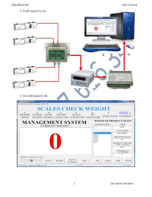 Cân kết nối máy tính
