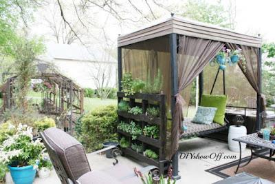 fantsticos jardines verticales realizados con palets