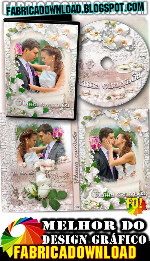 casamento dvd capa dvd arte pronta psd 300 dpi