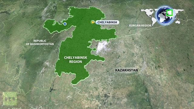 El 'Jaime' (2012DA14) Meteorite-russia-2013-Urals+region-map