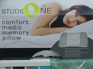 studio one comfort medic memory pillow