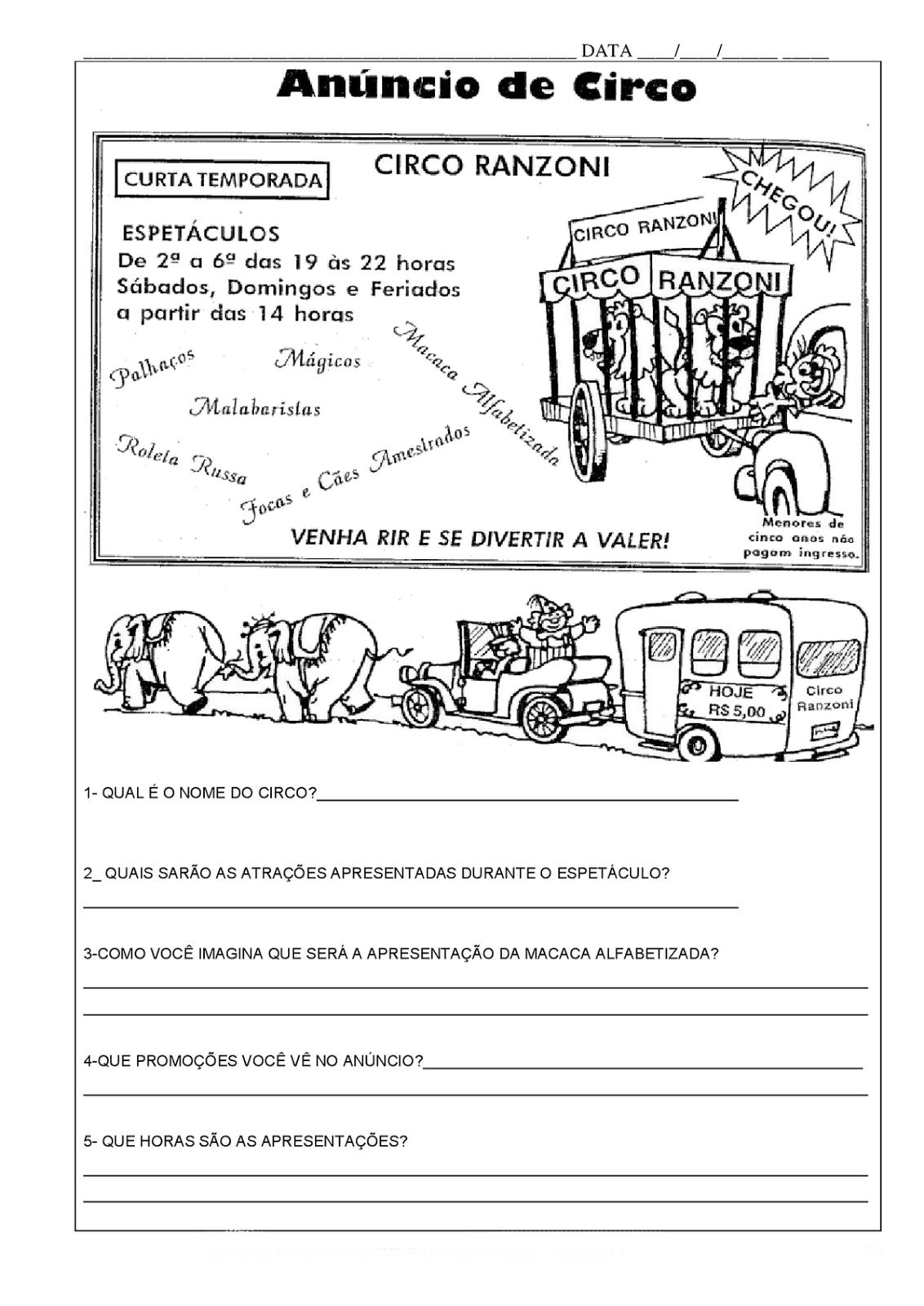 Atividades E Desenhos 06 2014 -> Atividades Com Substantivos Simples E Composto 4 Ano