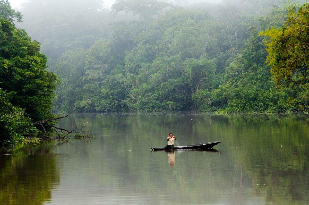White wolf wampis nation of peruvian amazon declares for Amazon fishing net
