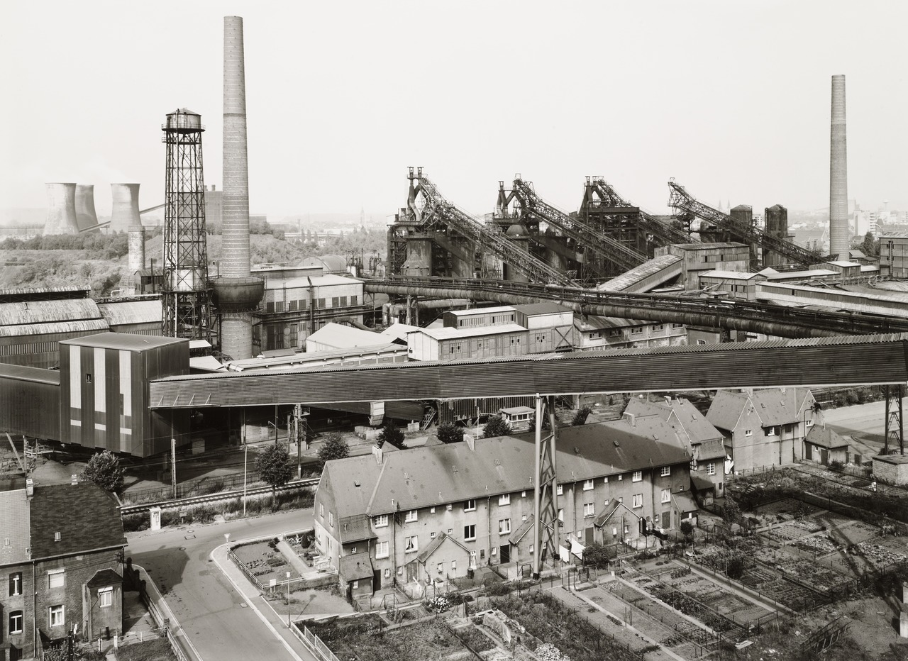 Bernd Becher Photographer Of German Industrial Landscape