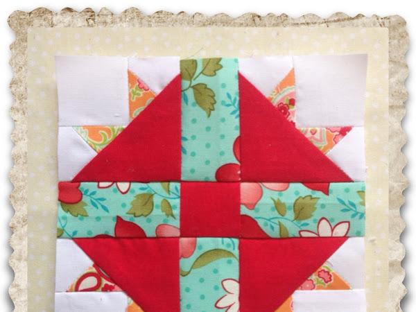 Chatelaine- Free BOW Sampler Quilt Block 37