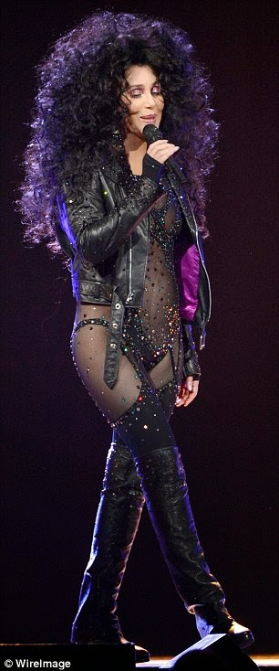 Cher on her new tour