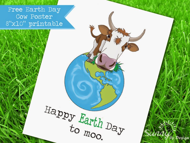 Happy Earth Day Birthday Happy Earth Day to Moo Free
