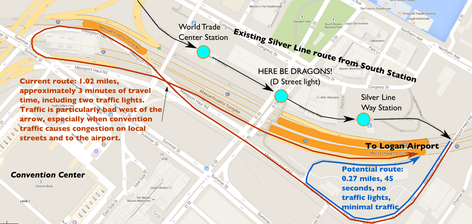 The Amateur Planner Going In Circles On The Silver Line