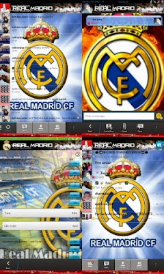 Download BBM Mod Real Madrid Apk New