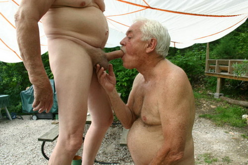 Gay Grandpa Blowjob