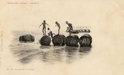 Playa del Postiguet principios de 1900