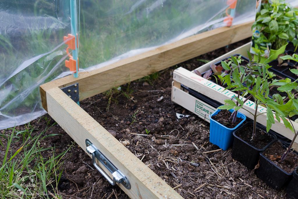 Le jardin de triton r alisation d 39 une mini serre en - Pour arroser un jardin il faut compter 6l ...