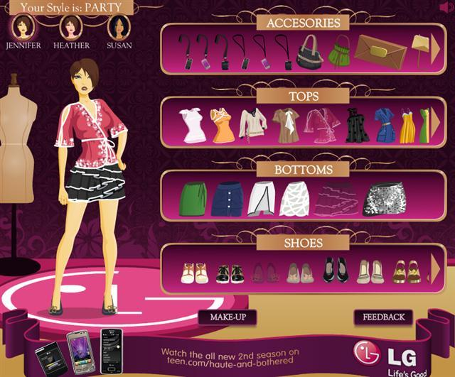 clothing games online
