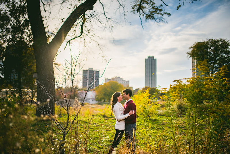 Chicago Engagement Photo