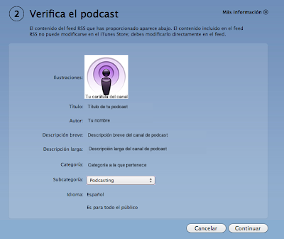 Verificar el podcast