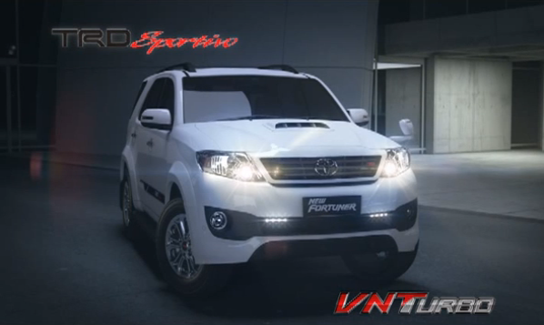 New Toyota Fortuner Makin Sporty - Review Mobil & Otomotif