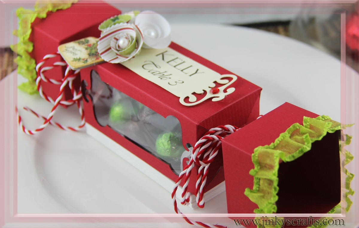 Jinky s crafts designs christmas candy treat box nd