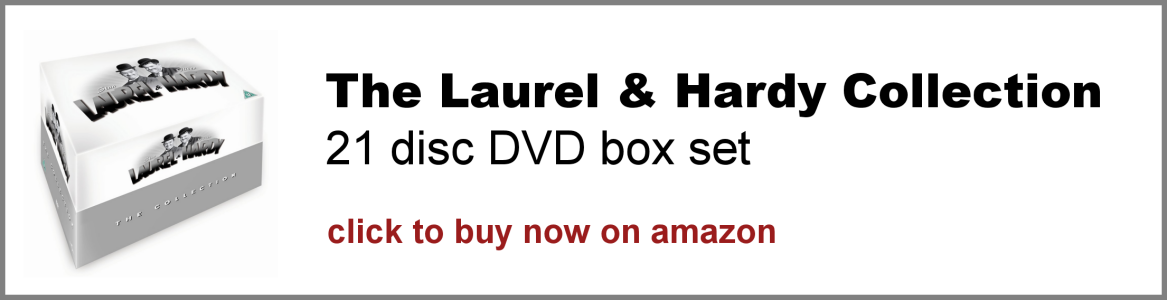 The Laurel and Hardy Collection 21 disc DVD box set