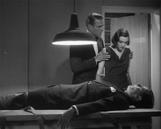 Randolph Scott, Kathleen Burke and (lying down) John Lodge