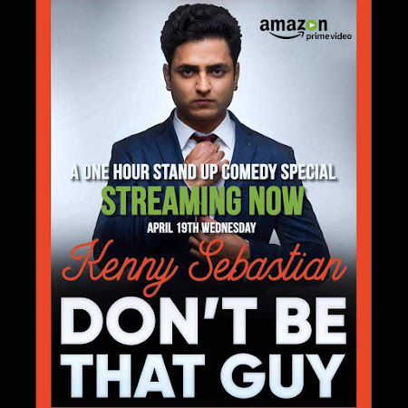 Poster Of Don't Be That Guy by Kenny Sebastian 27th March 2017 300MB Free Download
