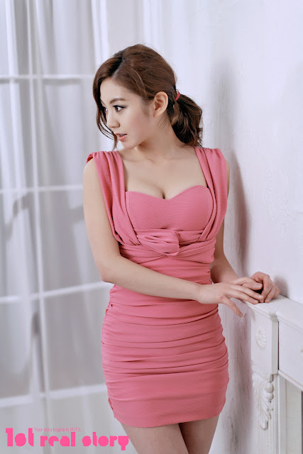 5 Chae Eun in Pink  - very cute asian girl - girlcute4u.blogspot.com
