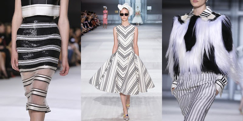 Giambattista Valli HC F/W 2014/15, Haute Couture, stripes