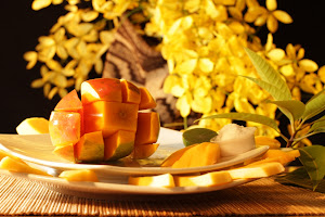 Del poema: Barranquilla con el sabor del mango maduro en sus besos