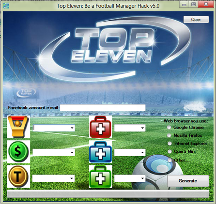 Top Eleven New v10.05 Hack