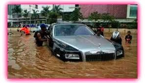 Tips Hidupkan Enjin Kereta Selepas Banjir