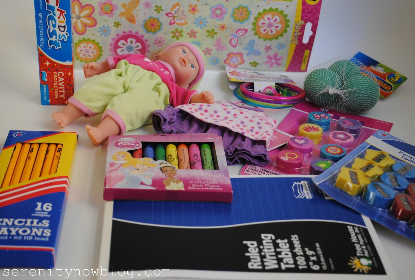 serenity now operation christmas child - Operation Christmas Child Ideas